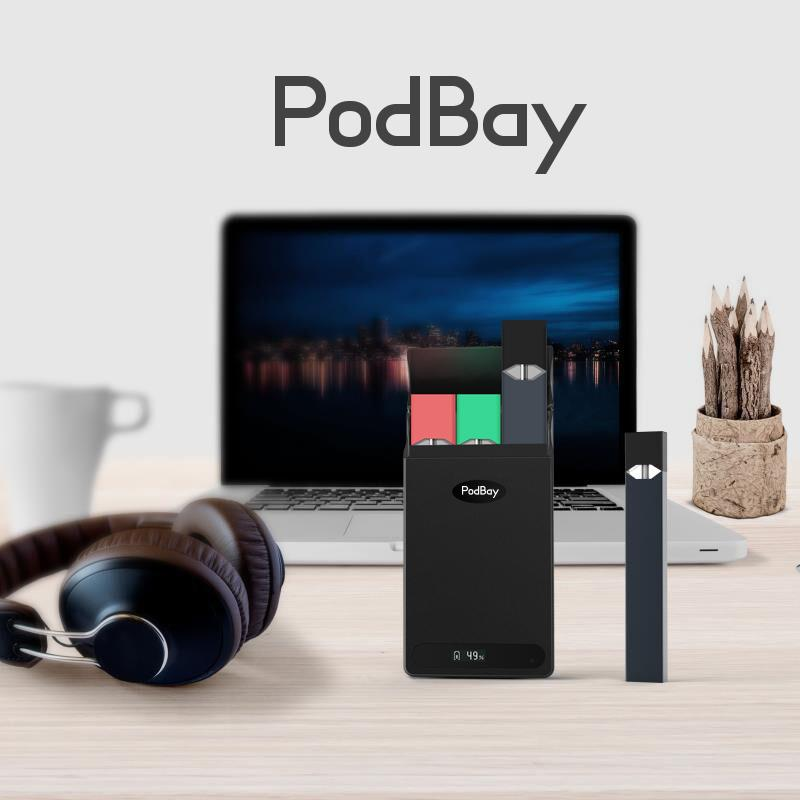 PodBay JUUL Portable Charging Case 1500mAh